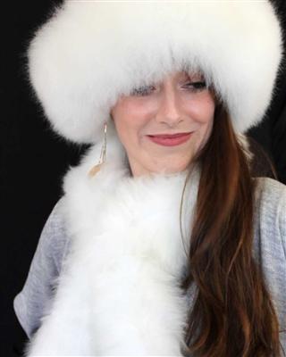 100% Alpaca Fur Scarf