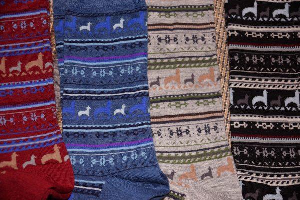 Alpaca Print Sock